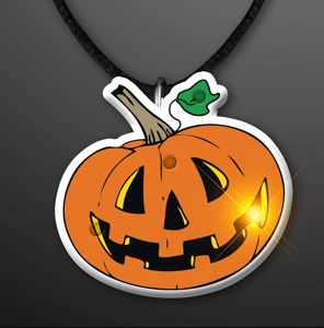 Flashing Pumpkin Flashing Pins (Pack of 12)