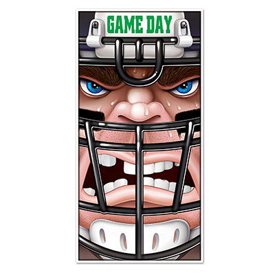 Football Door Cover for a game day decoration