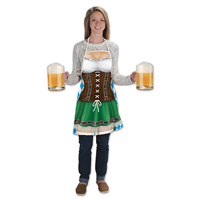 Fraulein Fabric Novelty Apron for Oktoberfest party