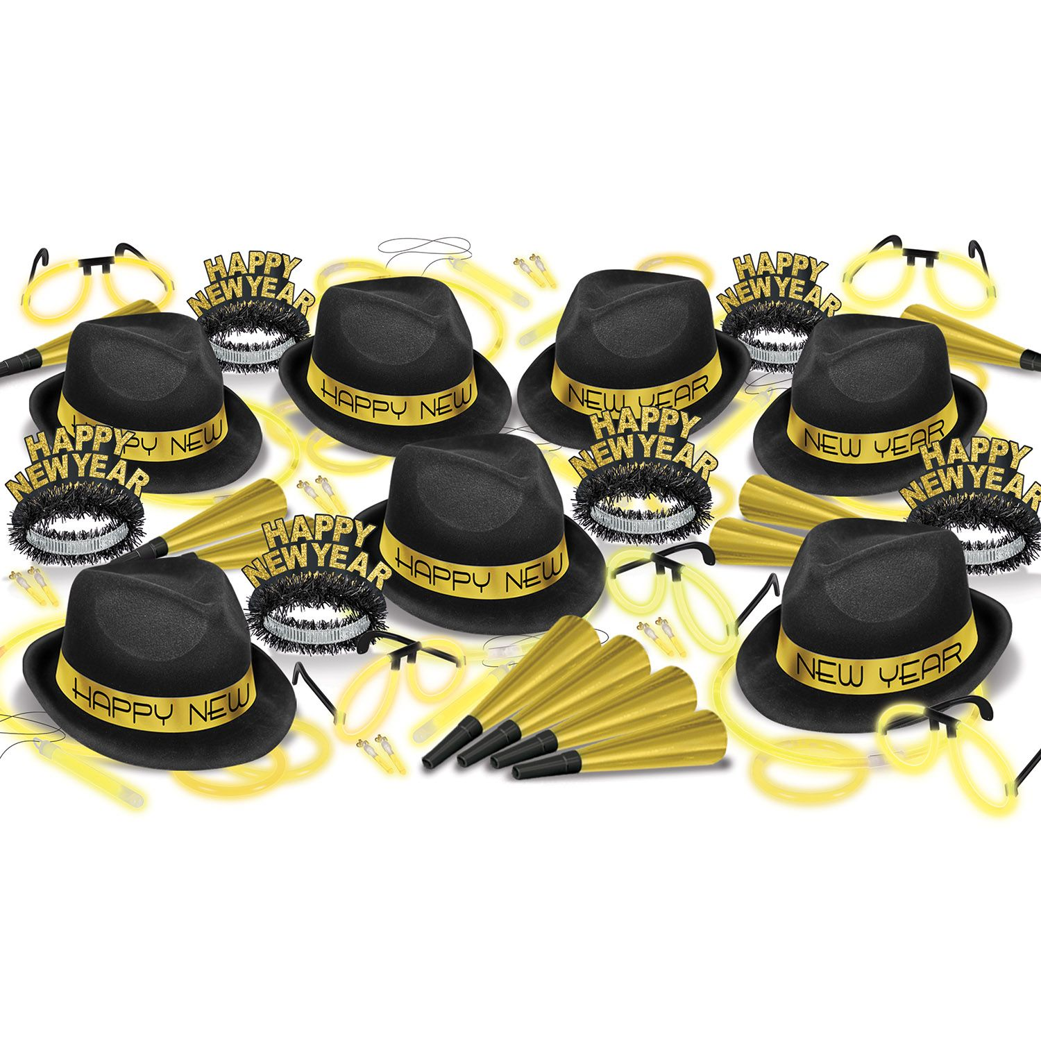 Wholesale New Year's Eve Party Kits & Packs