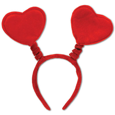 Red Heart Spring Boppers Headband