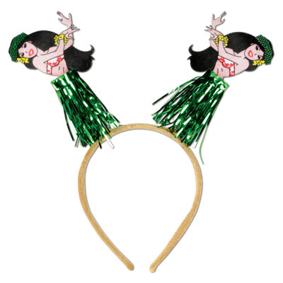 Hula Girl Headband