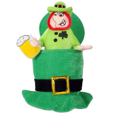Green Leprechaun Hat accessory for St. Patricks Day