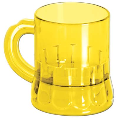 Mug Shot Glass