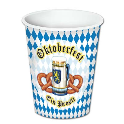 Paper cup printed for Oktoberfest.