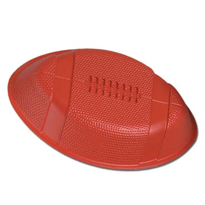 Brown Plastic Football Tray
