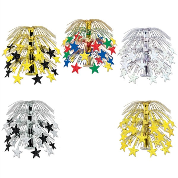 Star Cascade Centerpiece (Pack of 6) - SELECT A COLOR