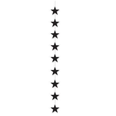 Star Stringer with black stars attached.