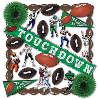 Assorted Touchdown Decorating Kit