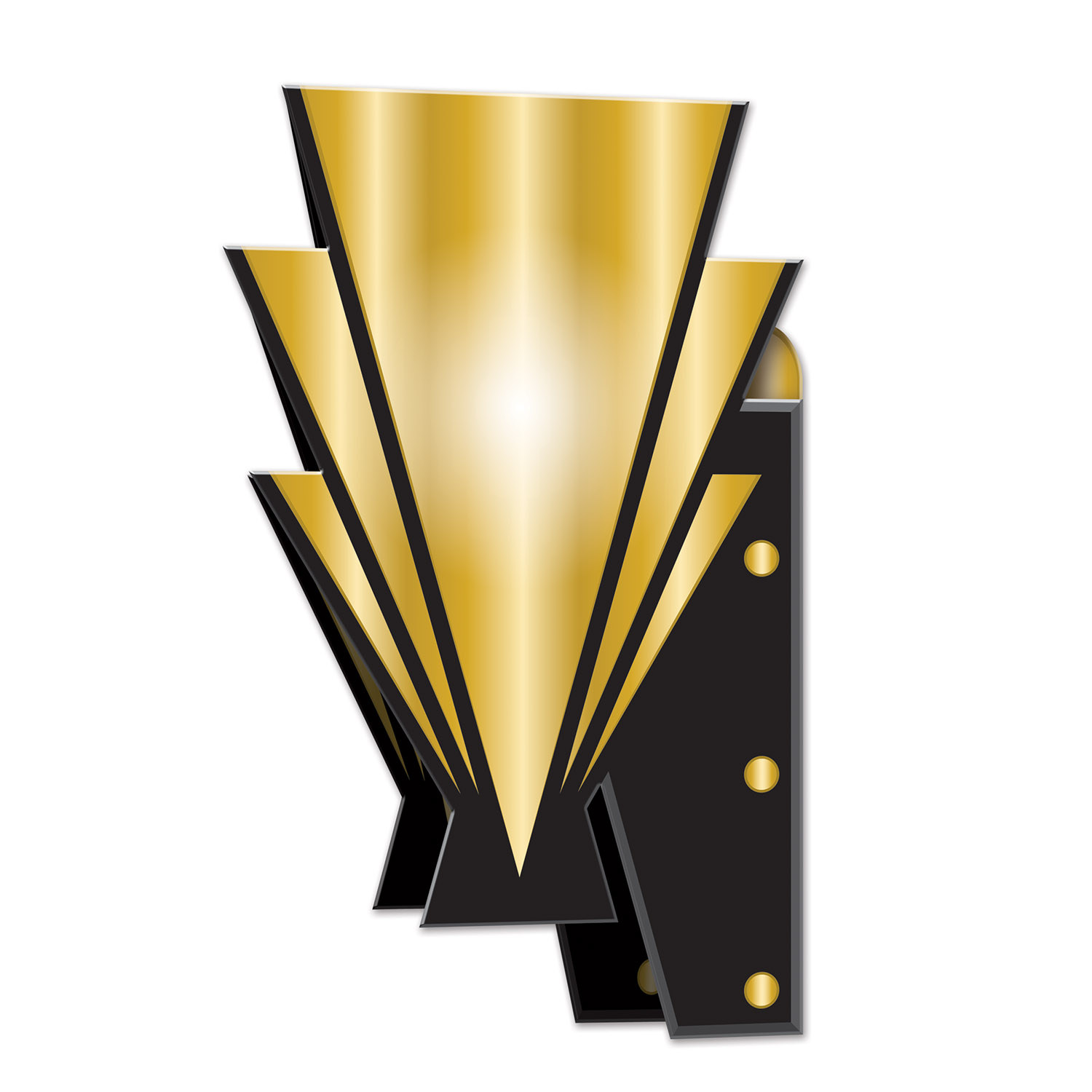 Inexpensive 3-D Great 20's Wall Sconces