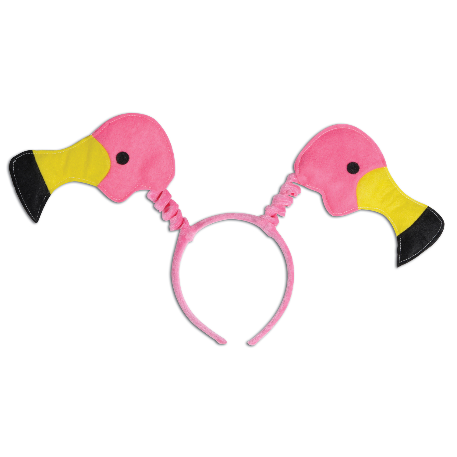 pink flamingo headband boppers