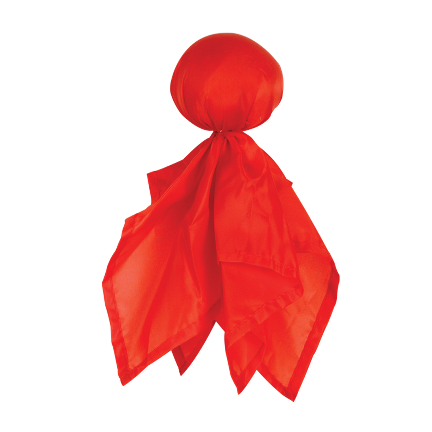 red football challenge flag