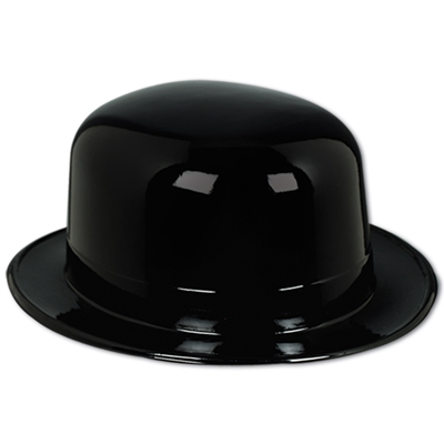 Plastic molded black material to make the perfect derby.