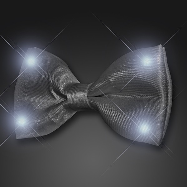 black light up bow tie