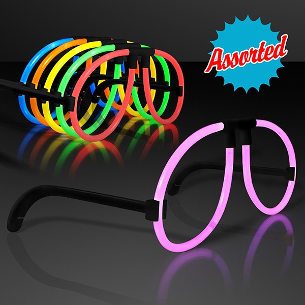 light up eye glasses in assorted colors