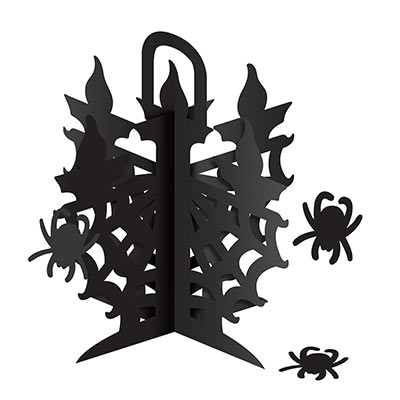 3-D Candelabra Centerpiece (Pack of 12) spiders, bugs, pumpkins, gohst, Halloween, centerpieces, Candelabra