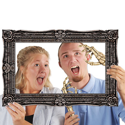 Halloween Photo Fun Frame (Pack of 12) Halloween, Photo, Fun, Frame, pictures, pops, skeleton hands