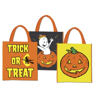 Halloween Treat Bags (Pack of 12) .