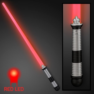 Light Up Red Saber. These light up red toy sabers are great for glow in the dark parties.