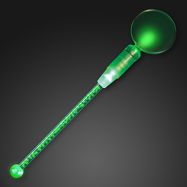 Deluxe Dual Green LED Cocktail Stirrer (Pack of 12)