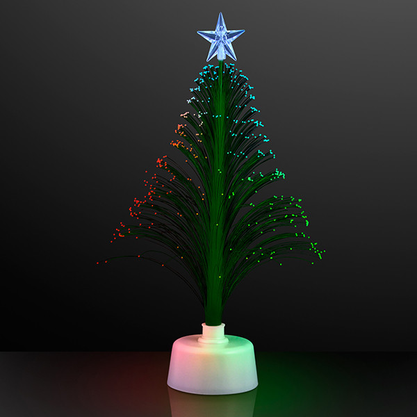 "11.5"" Light Up Green Christmas Tree. This Light Up Christmas Tree is the perfect tree for apartments or office Christmas parties."