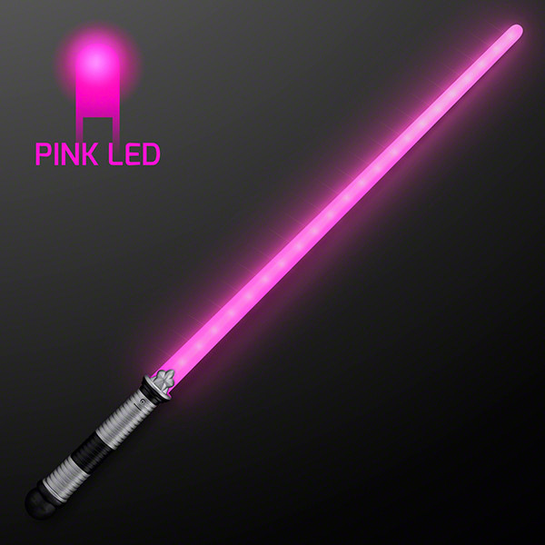 Pink Saber Space Sword with LED lights.