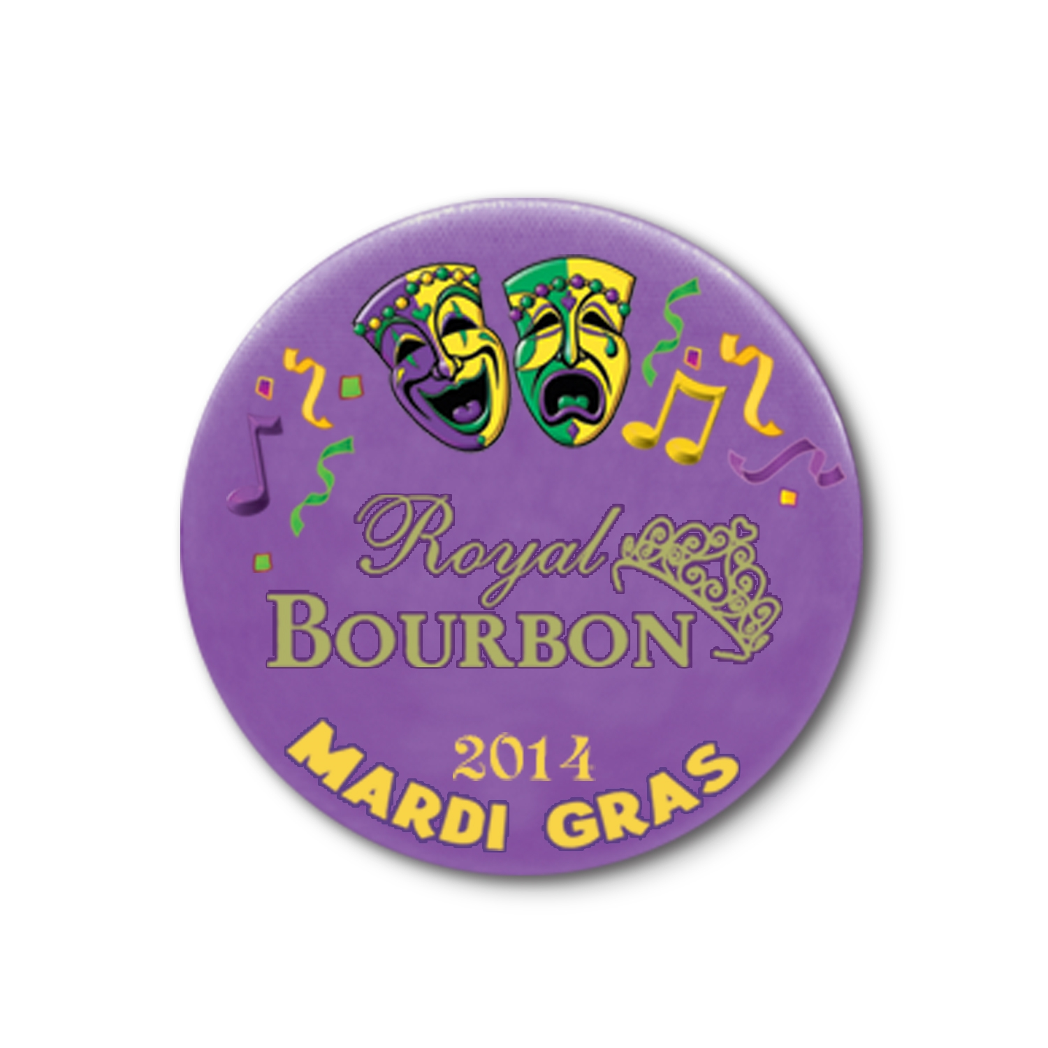 "1 3/4"" Custom Mardi Gras Button Custom Mardi Gras Button, Mardi Gras, Button, party favor, wholesale, decoration, bulk"