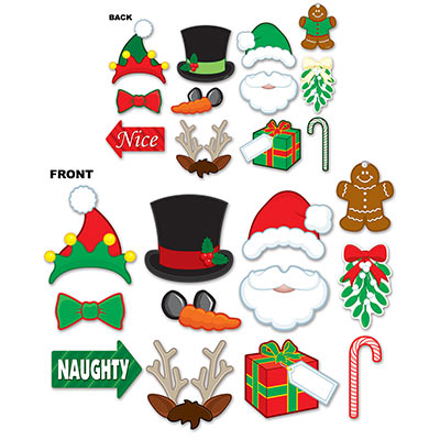Christmas Photo Fun Signs (Pack of 12pks of 12pcs) Christmas, Photo fun signs, party, wholesale, inexpensive, bulk, photo booth