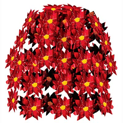Poinsettia Cascade (Pack of 12) .