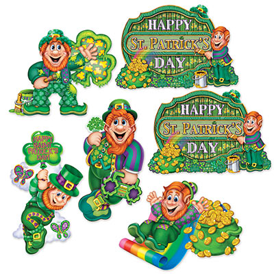 St.Patricks Day Cutout Decorations