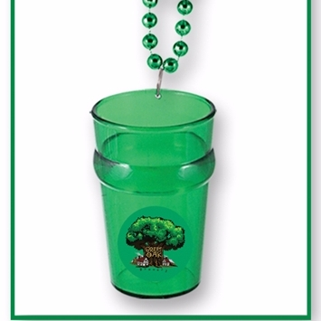 Custom Beads with Shot Glass  .
