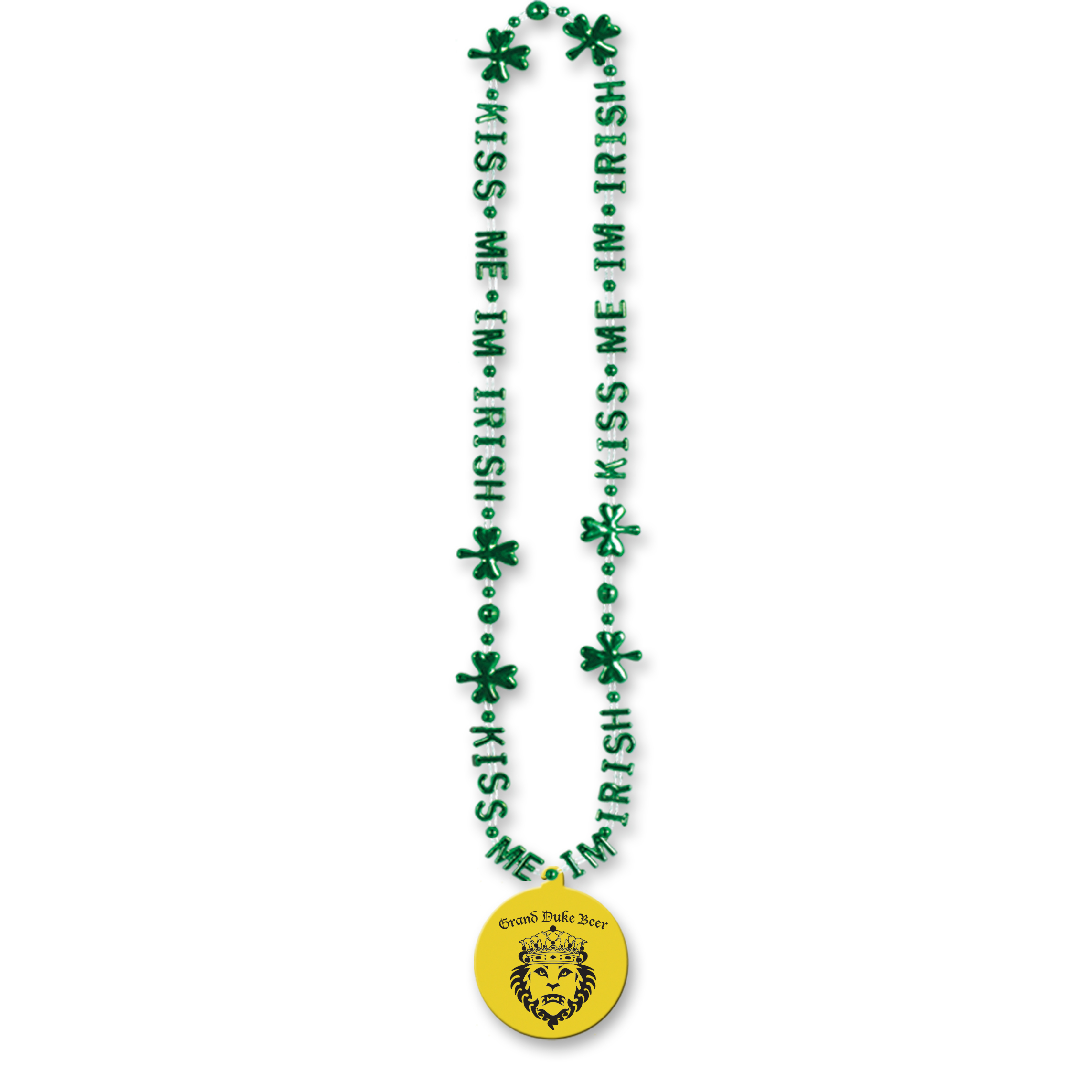 Custom Kiss Me Im Irish Beads Custom Kiss Me Im Irish Beads, beads, irish, custom, st. patricks day, wholesale, inexpensive, bulk