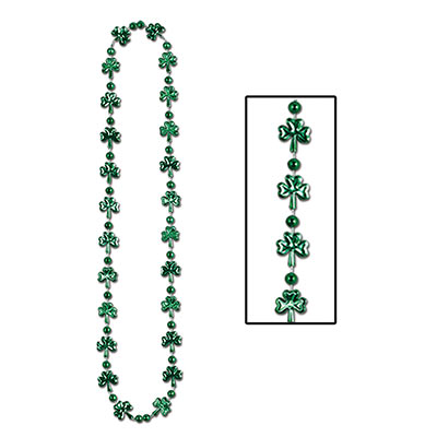 Bulk Shamrock Beads (Pack of 144) Bulk Shamrock Beads , shamrock, bulk, beads, St. Patricks Day, wholesale, inexpensive