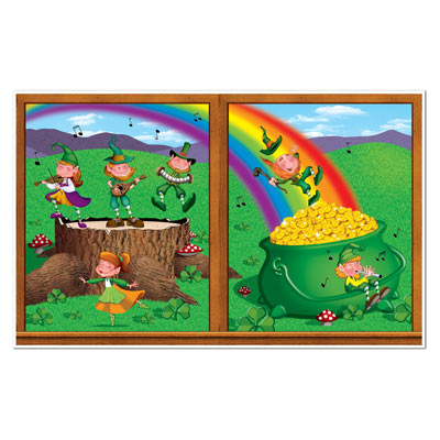 St Patricks Day Insta-View (Pack of 6) St Patricks Day Insta-View, legprechaun, gold, rainbow, st. patricks day, wholesale, inexpensive, bulk
