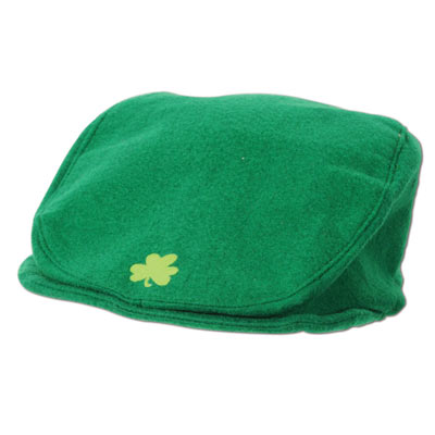 St Pats Cap (Pack of 12) St Pats Cap, st. patricks day, party favor, green, shamrock, wholesale, inexpensive, bulk