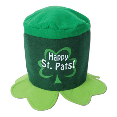 Happy St Pats! Hat (Pack of 12) .