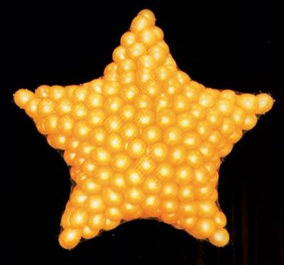 Star Balloon Drop (One 7 Star) Pack of 1 star, balloon, drop, sculpture, party, pack, hotel, restaurant, casino, bar,