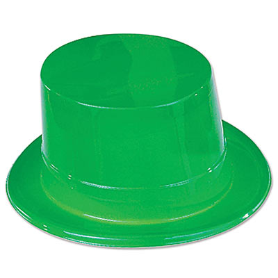 Green Plastic Topper (Pack of 24) Green Plastic Topper, decoration, party favor, st. patricks day, green, wholesale, inexpensive, bulk