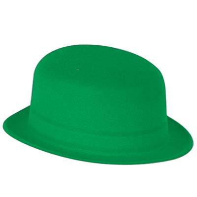 Green Velour Derby (Pack of 24) .
