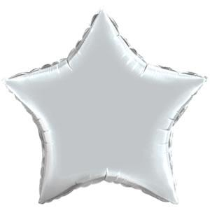 "20"" Silver Mylar Stars (Pack of 25) Silver, Mylar, Stars, 20"", Metallic Balloons, Balloons, Mylar balloons, Wholesale party supplies, Inexpensive party decorations, New Years Eve, NYE, Awards, Hollywood"