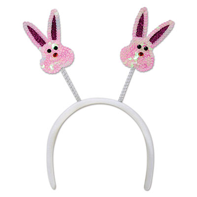 Sequined Bunny Boppers (Pack of 12) .
