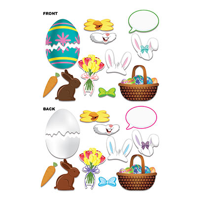 Easter Photo Fun Signs (Pack of 144) Easter, holidays, religion, picture, photo, props, bunnies, eggs