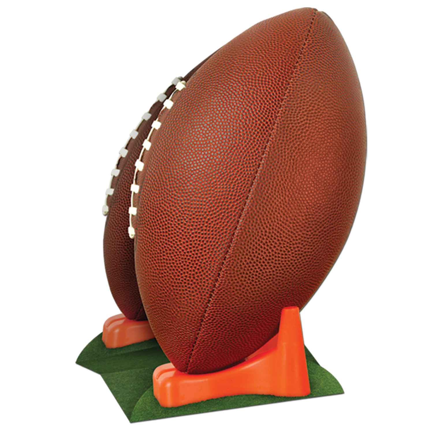 3-D Football Centerpiece (Pack of 12) Football, Super bowl, football cutout, football centerpiece, table centerpiece