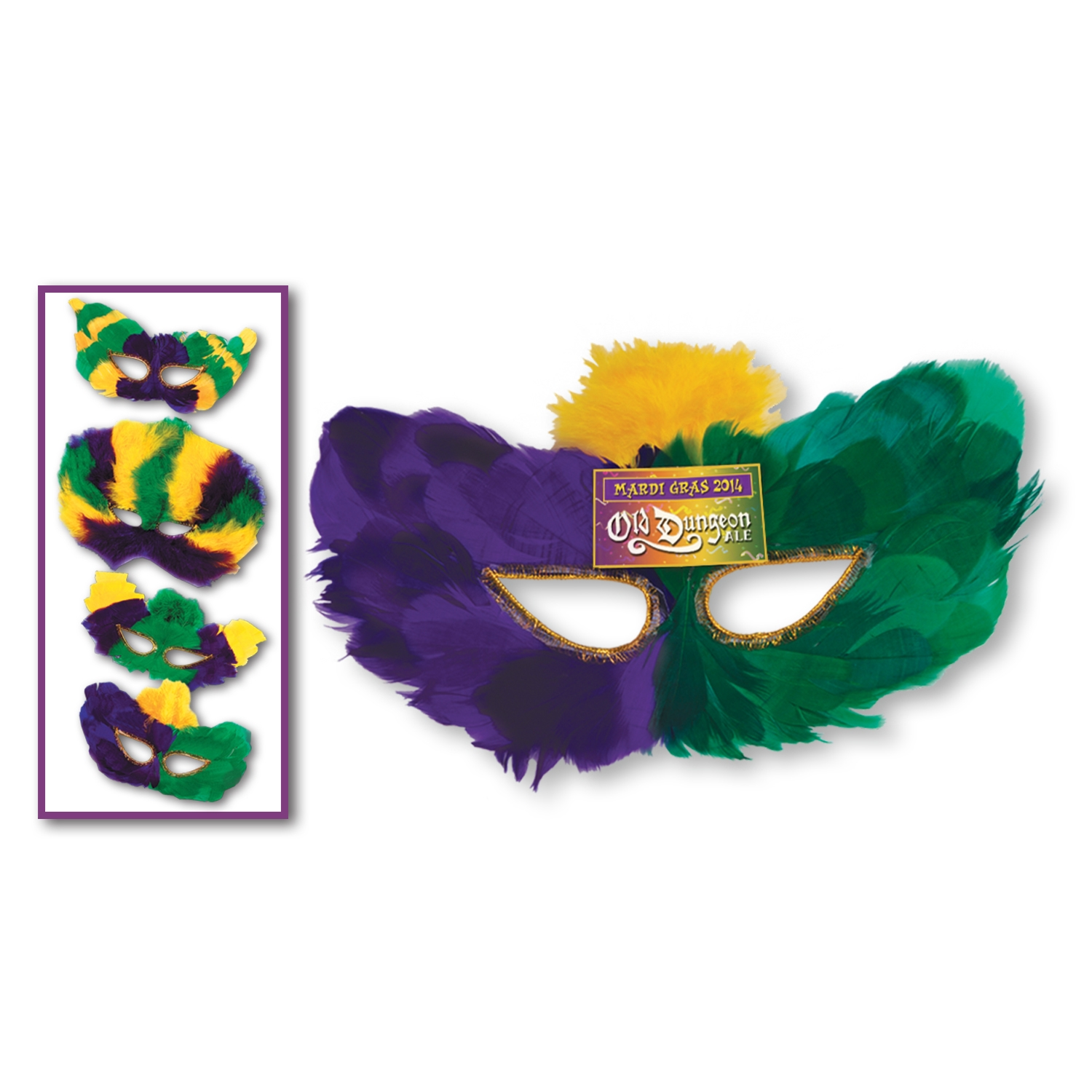 Custom Mardi Gras Fanci-Feather Mask Assortment Custom Mardi Gras Fanci-Feather Mask Assortment, mask, mardi gras, custom, party favor, wholesale, decoration, inexpensive, bulk