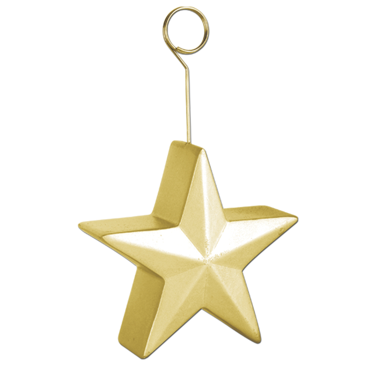 6oz Star Photo/Balloon Holders (Pack of 6) Star Photo Holder, Balloon Holder, Stars, Gold, New Years Eve, Holders, Balloon Weights, NYE, Black and gold decor, Birthday, Western, Wholesale party supplies, Inexpensive party decorations, Party goods, Cheap