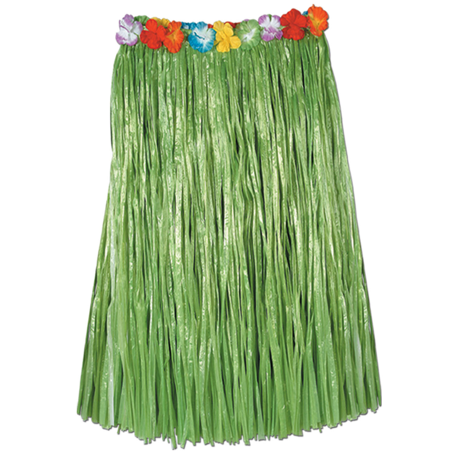 Adult Artificial Grass Hula Skirt (Pack of 12) hula, luau, skirt, hawaiian, adult, artificial grass, costume