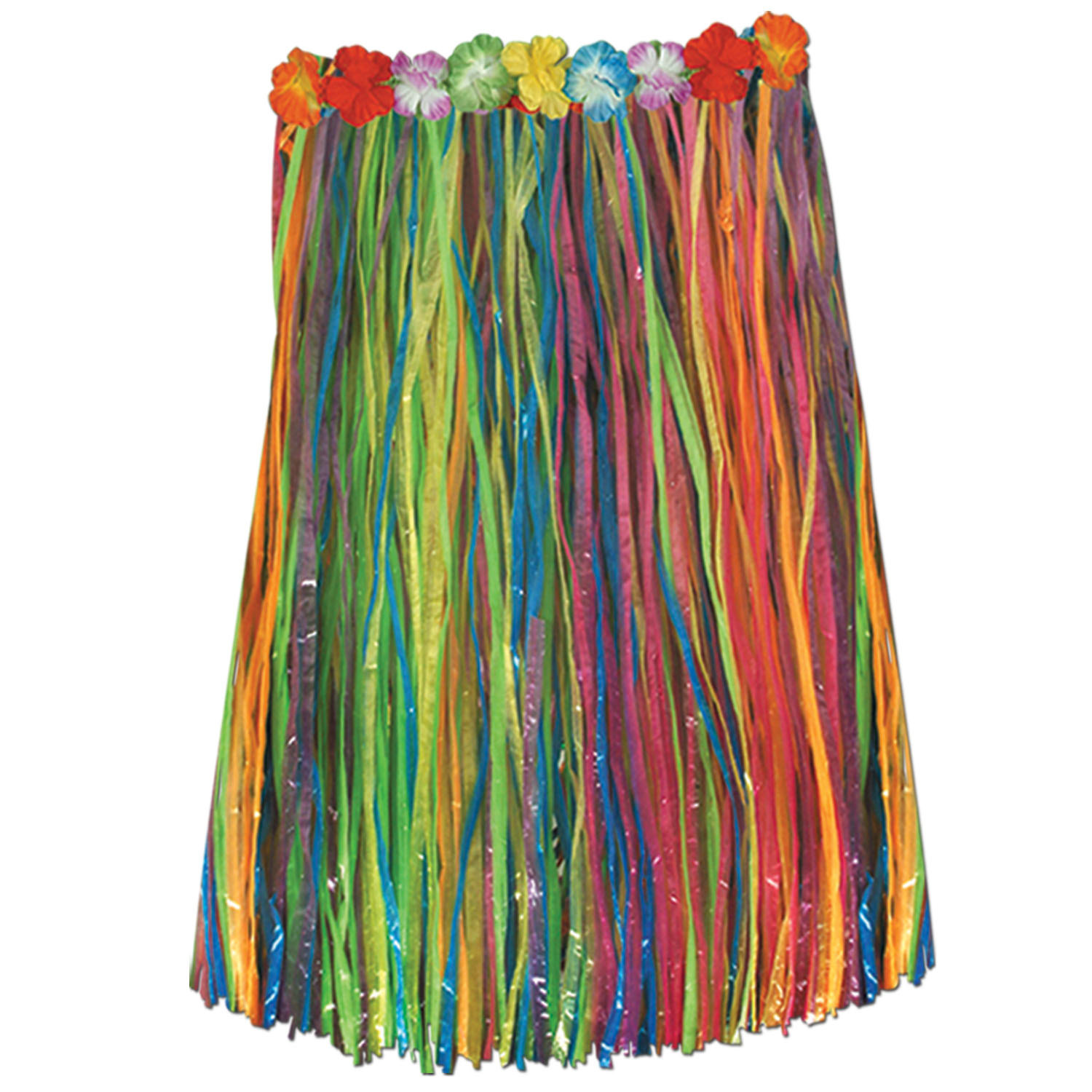 Adult Artificial Grass Hula Skirt (Pack of 12) artificial, adult, grass, hula, skirt, hawaiian, luau, costume