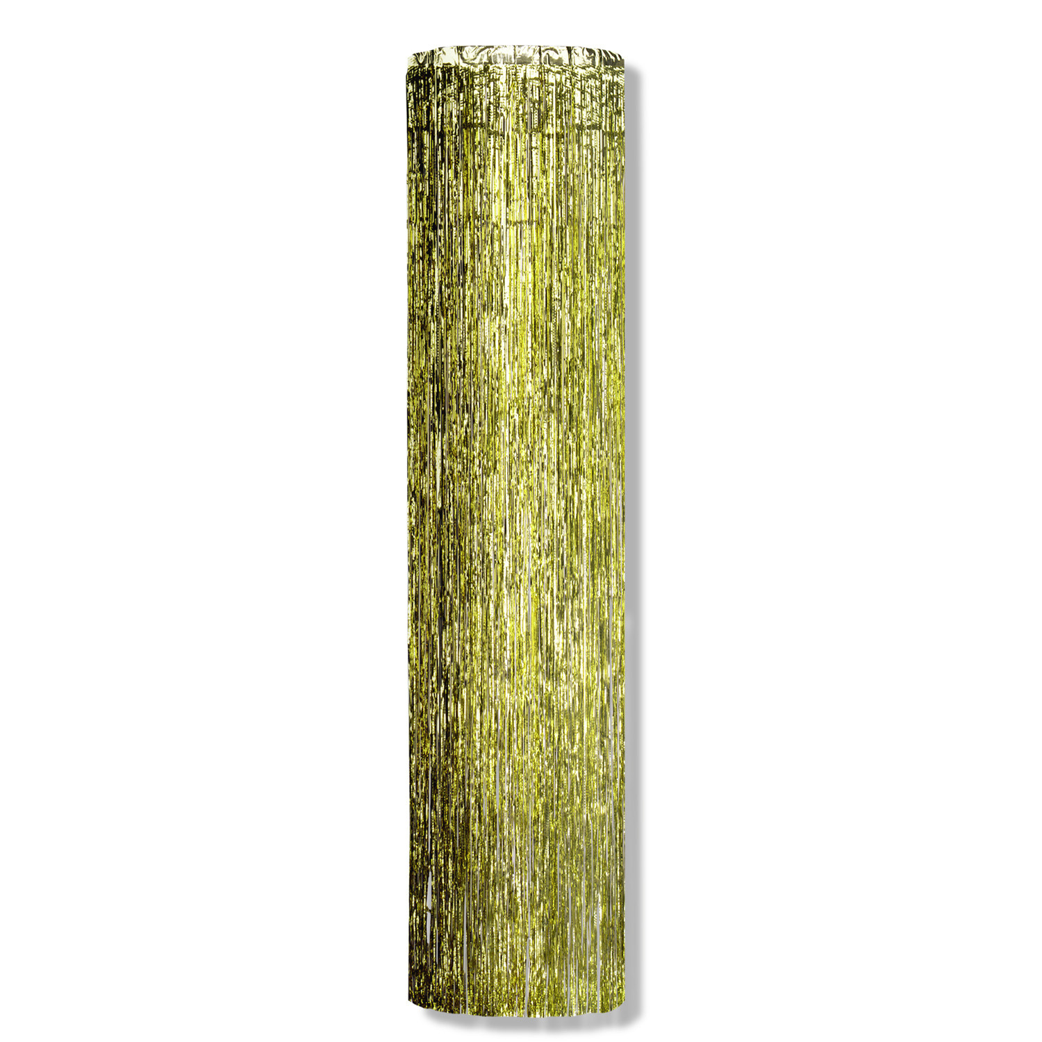 1-Ply Gold Gleam N Column (Pack of 6) column. gleam, gold, decoration, new years eve, st. patricks day, wholesale, inexpensive, bulk