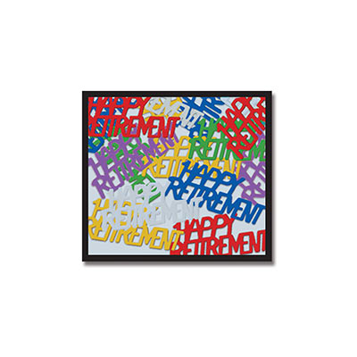 Happy Retirement Fanci-Fetti (Pack of 12) Happy Retirement Fanci-Fetti, party theme, retirement, confetti