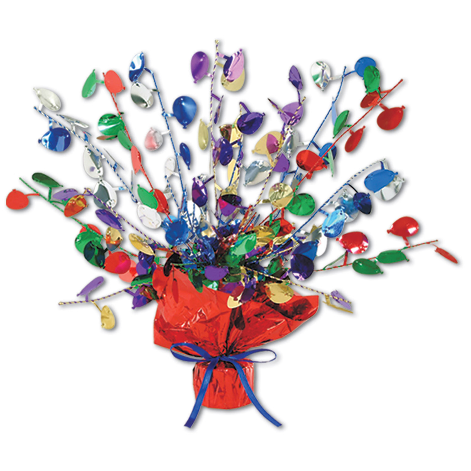 Balloon Gleam N Burst Centerpiece (Pack of 12) Balloon Gleam N Burst Centerpiece, decoration, centerpiece, new years eve, birthday, wholesale, inexpensive, bulk